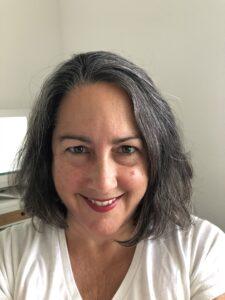 Shelley Burbank smiling